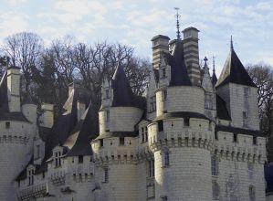 Loire-Schloss im Weinberg